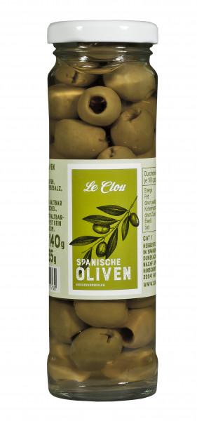 Grüne Oliven, entsteint, 140 g