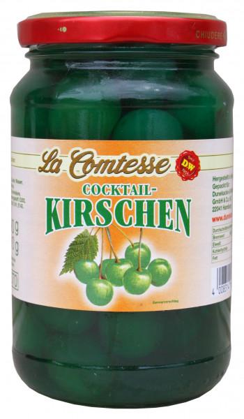 Cocktail-Kirschen, grün, 390 g
