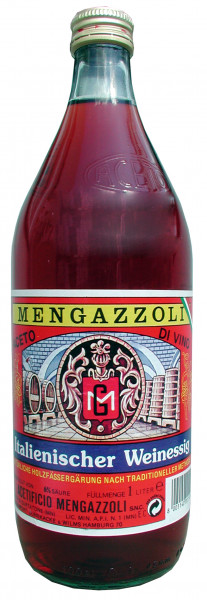 Rotweinessig, 6% Säure, 1000 ml