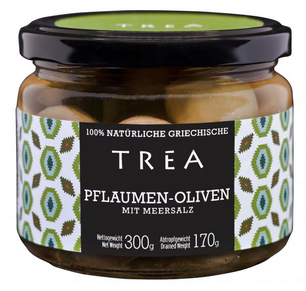 Plum Oliven mit Meersalz, 300 g