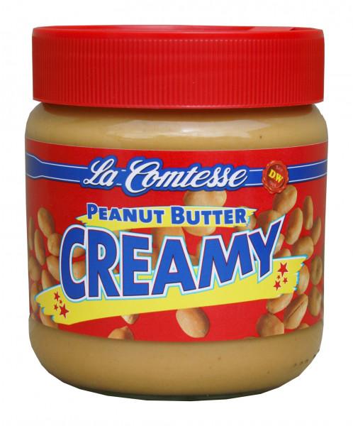 Erdnusscreme creamy, 350 g GLAS