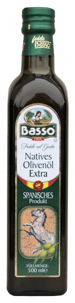 Natives Oliven Öl, extra SPANIEN, 500 ml