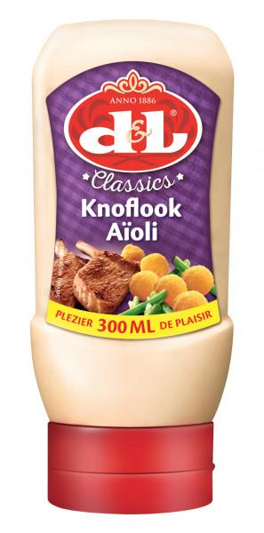Aioli Sauce in der praktischen Squeezeflasche, 300 ml