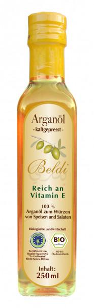 BIO Argan Öl, geröstet, 250 ml