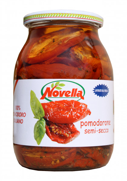 Ital. Halbgetrocknete Tomaten in Öl, 1062 ml