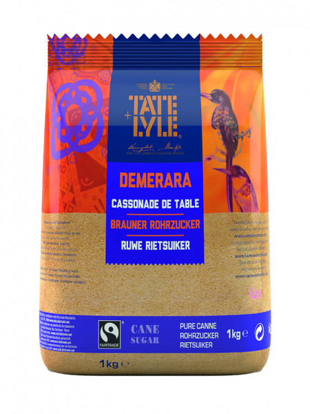 Demerara Rohrzucker braun, Fair Trade, 1000 g