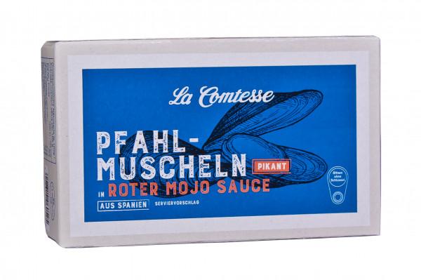 Pfahlmuscheln in roter Mojo-Sauce, 110 g