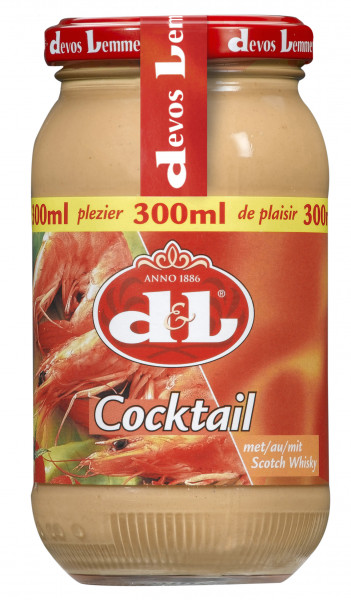 Cocktail Sauce mit Scotch Whisky, 300 ml