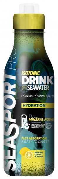 Seasport ISOTONIC Drink Zitrone mit Meewasser, 500 ml