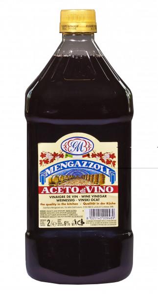 Rotweinessig, 6 % Säure, 2000 ml