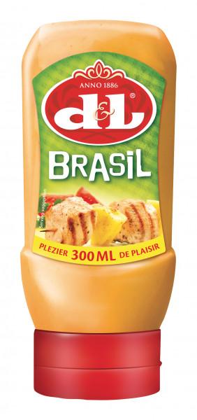 Brasil Sauce in der praktischen Squeezeflasche, 300 ml