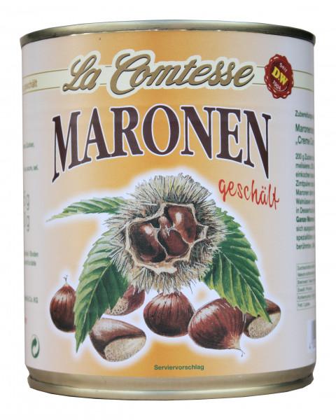 Maronen, ganz vacu-pack, 510 g