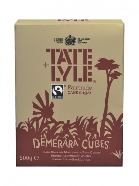 Demerara Würfelzucker, Fair Trade, 500 g