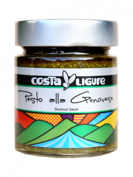 Pesto alla Genovese, Basilikum-Sauce, grün, 135 g