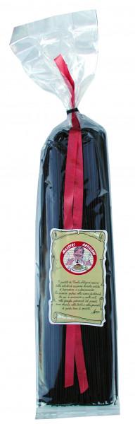 Spaghetti al Sepia,schwarz gefärbt, 500 g