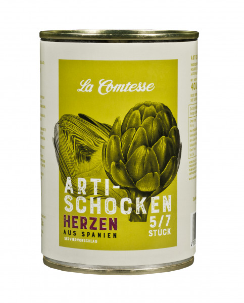Artischockenherzen 5/7er, 400 g